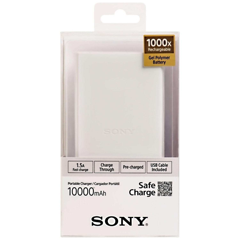 6647a9fc075 Power Bank Sony 10000mAh CPV10B Color Blanco - S&T Smartphones y Tecnología